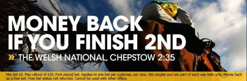 Click for the offer and to check out the Chepstow odds today.